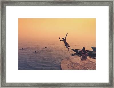 Ganges  Framed Print by Marji Lang