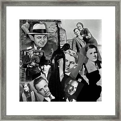 Gangland Framed Print