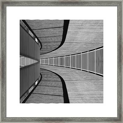 Framed Print featuring the photograph Gangway by Chevy Fleet