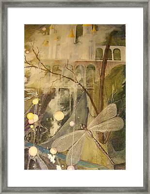 Framed Print featuring the painting Ganth IIi by Jackie Mueller-Jones