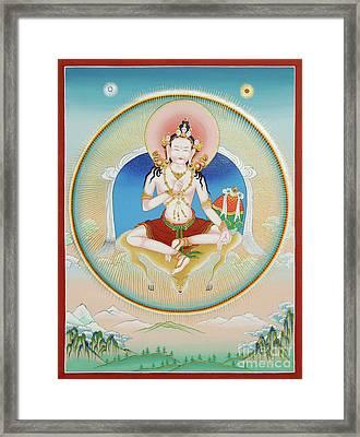 Garab Dorje Framed Print