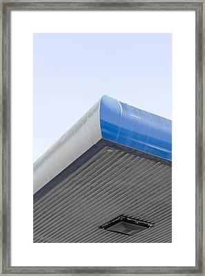 Garage Roof Framed Print by Tom Gowanlock