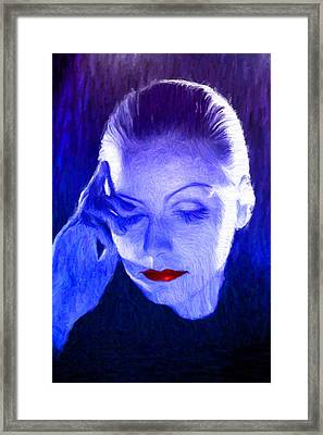 Garbo Framed Print by Caito Junqueira