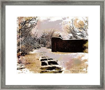 Garden Art Print  Framed Print