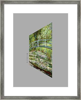 Garden At Noon Framed Print
