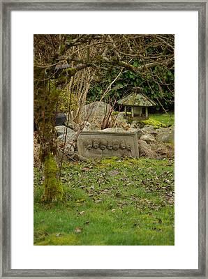 Garden Babies Framed Print