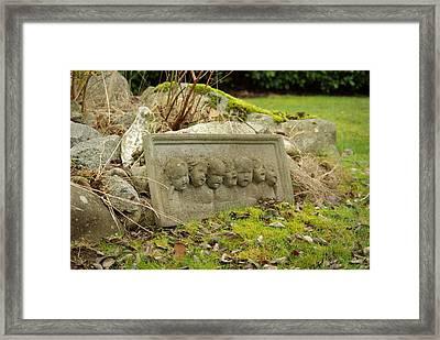Garden Babies II Framed Print
