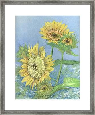 Garden Beauties Framed Print by Lisa Bell