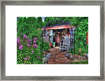 Garden Center Framed Print by Robert Pearson