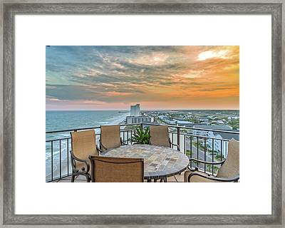 Garden City Beach View Framed Print