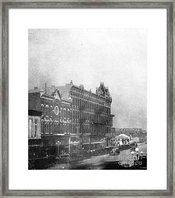Garden City, Dust Storm Sequence, 1 Framed Print