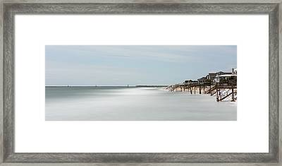 Garden City Ocean Front Living Color Framed Print