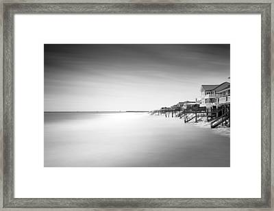 Garden City Ocean Front Living II Framed Print