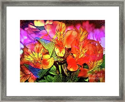 Garden Color Framed Print by Judi Bagwell