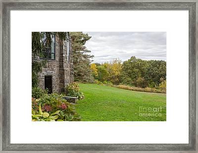 Garden Countryside  Framed Print