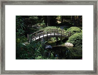 Garden Crossing Framed Print by Kelvin Booker