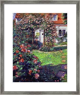 Garden Delights Framed Print by David Lloyd Glover