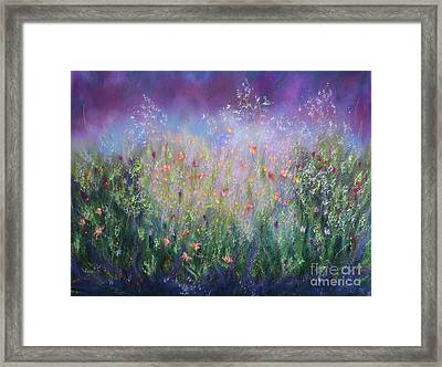 Garden Dreams Framed Print