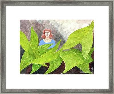 Garden Fantasy  Framed Print by Fred Jinkins