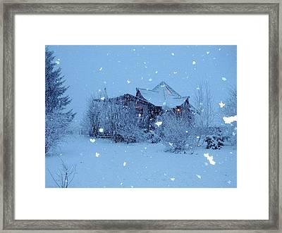 Garden Gallery, Winter 2010 Framed Print by Leizel Grant