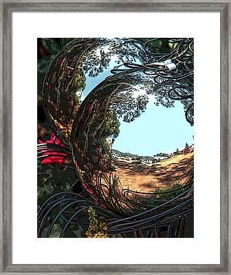 Garden Globe Framed Print