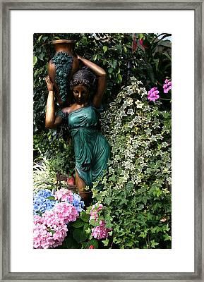 Garden Goddess Framed Print