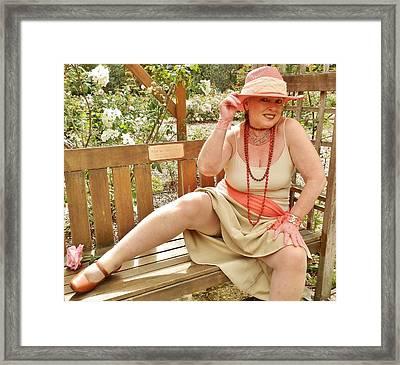 Garden Gypsy Framed Print