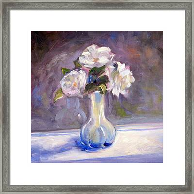Garden Icebergs Framed Print by Athena  Mantle