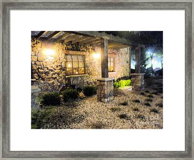 Framed Print featuring the photograph Garden by Janelle Dey