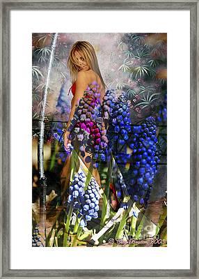 Garden Nymph Framed Print