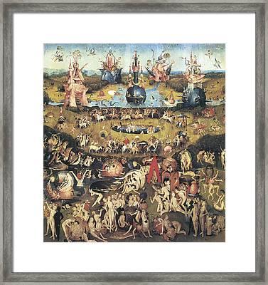 Garden Of Earthly Delights Framed Print