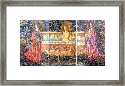 Garden Of Eden Framed Print by Tanya Ilyakhova