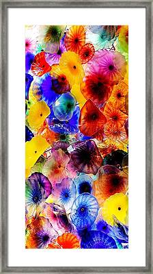 Framed Print featuring the photograph Garden Of Glass Triptych 2 Of 3 by Benjamin Yeager