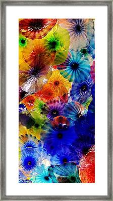 Framed Print featuring the photograph Garden Of Glass Triptych 3 Of 3 by Benjamin Yeager