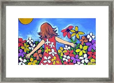 Garden Of Joy Framed Print