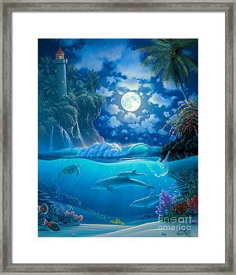 Garden Of Light Framed Print by Al Hogue
