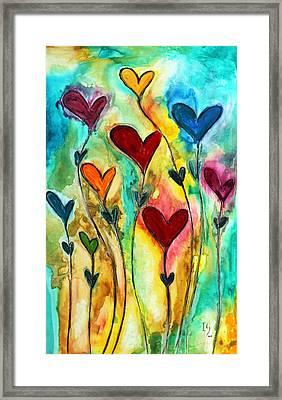 Garden Of Love Framed Print