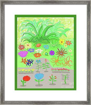 Garden Of Memories Framed Print by Fred Jinkins