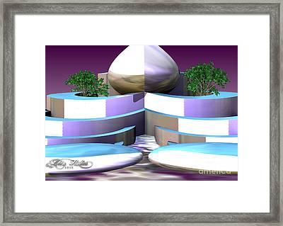 Garden Of Nemesis Cloud Framed Print