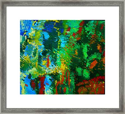 Garden Of Possibilities Framed Print by Lorna Ritz