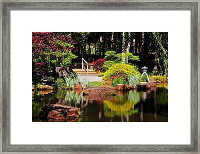 Garden Of Solitude Framed Print