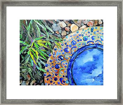 Garden Ornament Framed Print