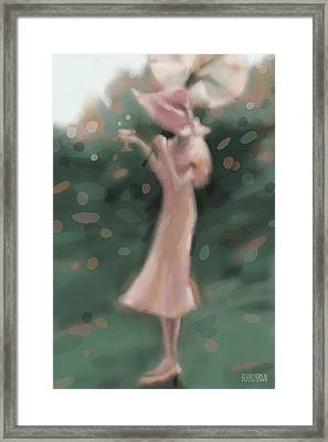 Garden Party Framed Print by Beverly Brown