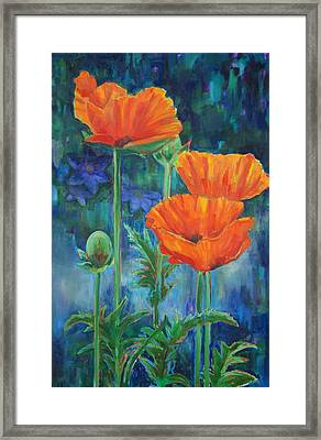 Garden Party Framed Print by Billie Colson