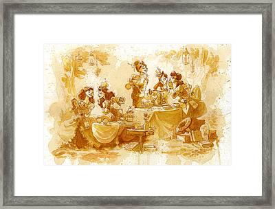 Garden Party Framed Print by Brian Kesinger