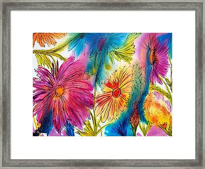 Garden Party Framed Print by Jane Robinson