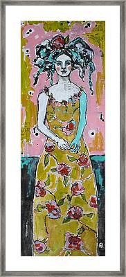 Garden Party Framed Print by Jane Spakowsky