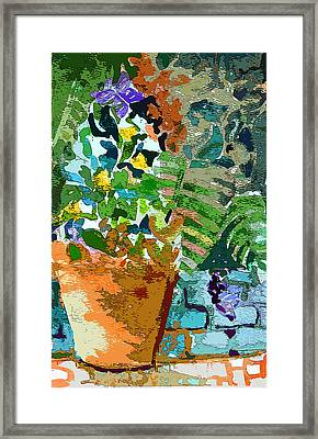 Garden Party Framed Print by Mindy Newman