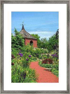 Garden Path Framed Print by Trey Foerster