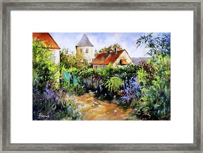 Garden Pleasures Framed Print by Rae Andrews